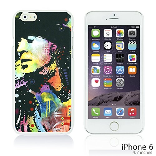 OBiDi - Celebrity Star Hard Back Case / Housse pour Apple iPhone 6 / 6S (4.7 inch)Smartphone - Che Guevara Stephen Ray Vaughan