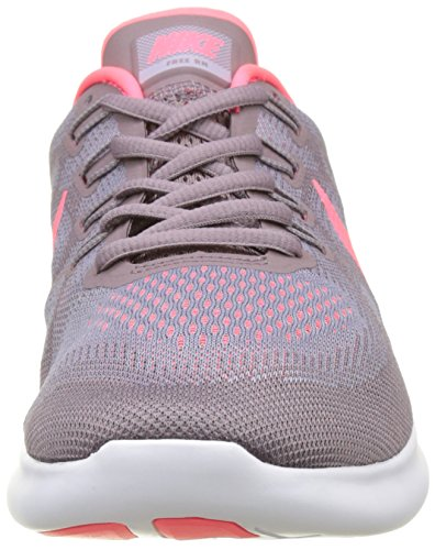 Nike Wmns Free RN 2017, Scarpe Running Donna Rosa (Violet Provence/gris Taupe/pêche Glacé/rouge Cocktail)