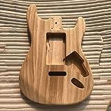 Unfinished DIY Gitarre Korpus Ahorn Körper für Fender ST-Gitarre