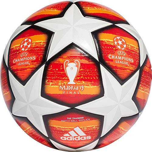 2b954e6073150 adidas Finale M TTRN Soccer Ball, Hombre, (Blanco/Active Scarlet Red/
