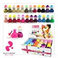 24 x NAIL POLISH VARNISH SET B BABY FACE 24 COLOURS WHOLESALE THE BEST GIFT UK