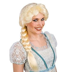 Carnival Toys 2899-Peluca princesa de Islandia de maletín