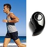 Franterd® Bluetooth 4.0 Mini Ultra-kleine S530 Stereo Drahtlose Sport Musik Headset Kopfhörer Earbud Freisprechen (Schwarz)