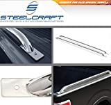 Steelcraft 612417 97-14 FORD F150 6. 5' (78 inch) SHORT BED / BED RAILS S/S (Exclud. Super Crew w/5. 5' Short Bed) Stainless Steel Truck Side Bed Rails