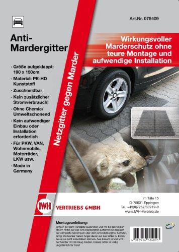 IWH Vertrieb 078409 Anti-Mardergitter 190 x 150 cm