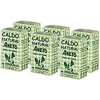 Aneto 100% Natural - Caldo de Verduras - caja de 6 unidades de 1 litro
