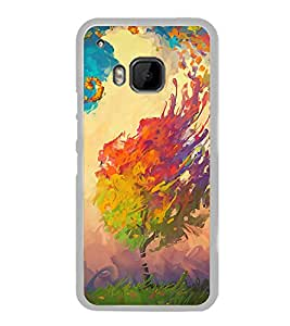 ifasho Designer Phone Back Case Cover HTC One M9 :: HTC One M9S :: HTC M9 ( Yoga Pose )