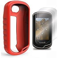 TUSITA Schutzhülle mit Displayschutzfolie für Garmin Oregon 600/600t/650/650t/700/750/750t Handheld GPS Silikon Hautschutzhülle