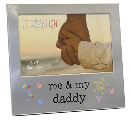 FA519D Aluminium-Bilderrahmen Me & My Daddy, 15 x 10 cm