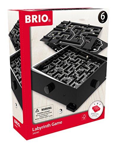 BRIO-34040-Labyrinth-mit-bungsplatten-schwarz
