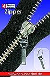 Unbekannt Langlauf Fashion Reißverschluss Zipper Classic Reisser zur Reparatur defekter Reissverschlüsse DREI Farben Auswahl (Silber)
