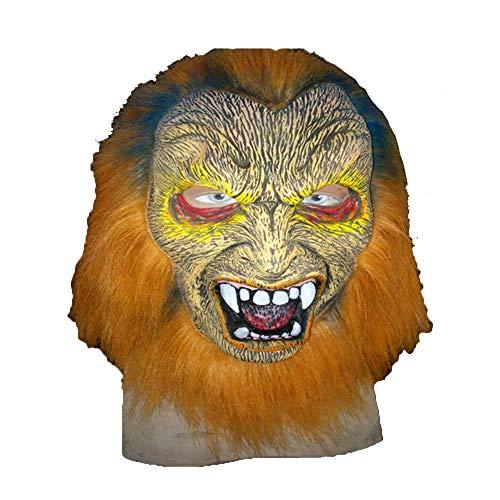 Kostüm Für Erwachsene Burlesque - Halloween Maske Latex Schrecklich Gesicht Kopfmaske Furchtbar Für Weihnachten Kostüm Party Burlesque-Shows, Party-Parodien Werwolf Horror Vampir