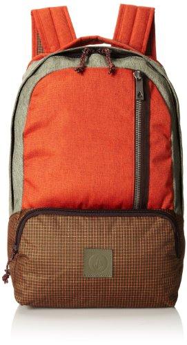 volcom-basis-poly-backpack-borsa-con-manici-auburn-taglia-18-litres