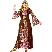 Adult Female Summer of Love Hippie Fancy Dress Costume