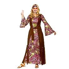 Wicked Costumes Adult Female Summer of Love Hippie Fancy Dress Costume , Purple , Women: 22-24
