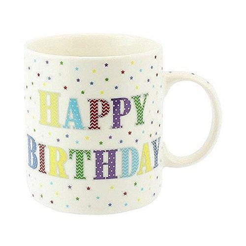 Mug – Star Imprimé Happy Birthday