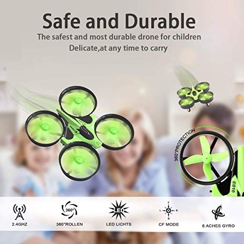Mini Quadrocopter Drohne, EACHINE E010 Mini Drone RC Quadcopter Spielzeug und Geschenk für Kinder Anfänger - 4