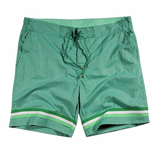 BARCO TEKSTIL Swim short uomo Sportswear, L.Grey, M, 341544 Verde - Opale