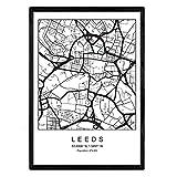 Nacnic Karte Klinge Leeds City skandinavischer Stil in