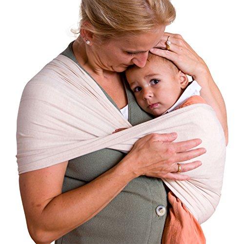 Babytuch - das Tragetuch ohne Knoten (3, Natur)