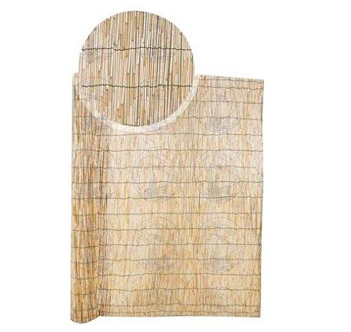 Arella in bambu Sonnenschutznetz Abdeckung Außen Meer 300cm H x 500cm L mqf007 - Enrico Bambus