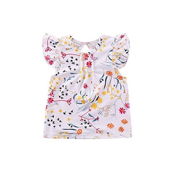 K-youth Ropa Bebe Niña Verano 2018 Ropa Bebe Recien Nacido Niña Vestido Bebe Ceremonia Vestido Bebe Niña Bautizo Vestido… 4