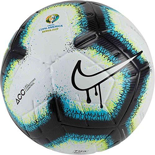 Nike Copa America NK Merlin Balon de fútbol, Unisex Adulto, Black/Blue/White, 5