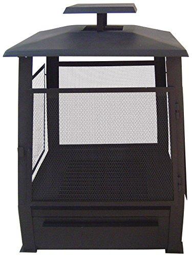 Esschert Terrassenofen Pagode mit Gitter, FF122