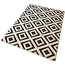 Teppich läufer weiß  Suchergebnis auf Amazon.de für: teppich schwarz weiß