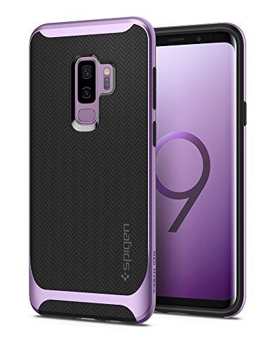 Spigen-Neo-Hybrid-Samsung-Galaxy-S9-PLUS-Hlle-Zweiteilig-Silikon-TPU-Schale-mit-PC-Bumper-Schutzhlle-Case