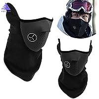 La mitad de la cara máscara invierno deporte máscara cortavientos para bicicleta Ciclismo Máscara esquí baberos para esquí y snowboard al aire libre máscaras