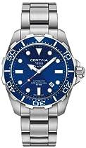 Certina Herren-Armbanduhr XL Analog Automatik Edelstahl C013.407.11.041.00