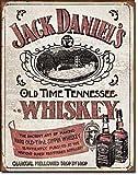 BorisMotley Jack Daniels Blechschild Whiskey Pub Bar Vintage Blechschild Retro Blechschild