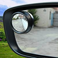 Car Rearview Blind Sport Mirrors On Aluminum Border Thin Car Blind Sport Mirror - Hyundai Genesis Berlina