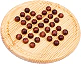 """Legler """"Wooden Marble"""" Solitaire Board Games"""