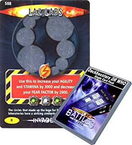 Doctor Who - Deckboosters Single Card : Invader 213 (588) Laz Labs Dr Who...