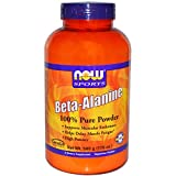 Now Foods Beta Alanine 2000mg Powder Amino Acid Optimum Muscular pH by NOW Foods