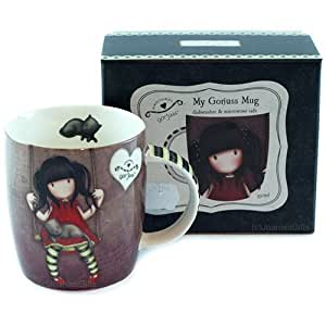 Gorjuss Porcelain Mug - Ruby