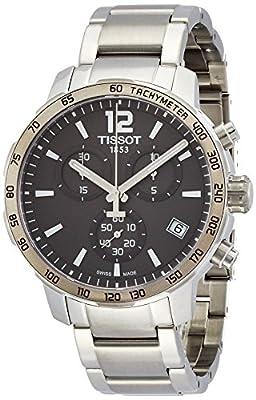 Tissot-Reloj de pulsera hombre cronógrafo cuarzo acero inoxidable t095.417.11.067.00