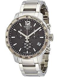 Tissot Homme Montre avec bracelet quartz chronographe acier inoxydable t095.417.11.067.00