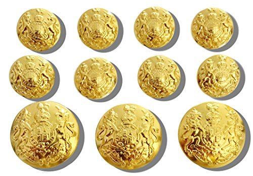 waterbury-button-co-gold-11-piece-single-breasted-set-of-metal-sport-blazer-buttons-united-kingdom-r