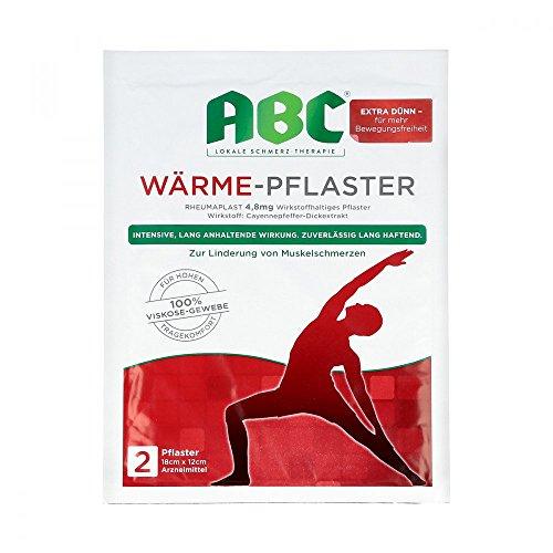 ABC Wärme-Pflaster, 2 St.