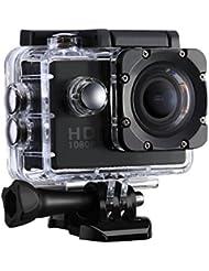 VTIN Caméra de Sport et Action Haute Définition Full HD 1080p 12MP 30M Étanche Caméscope d'action 170 degrée Multifonction Caméra Embarquée
