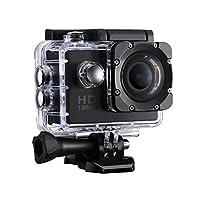 VicTsing Caméra de Sport et Action est spécialement conçu pour les sports en plein air, Petite, compacte et légère, vous offrant des photos jusqu'à 12MP et des vidéos Full HD, Vous permettant de Capturer chaque moment incroyable! Accessoires multiple...