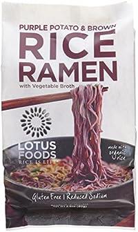 Lotus Foods - Organic Rice Ramen with Vegetable Broth Purple Potato & Brown 182303