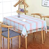 XTUK Home Decoration Tischdecke Weihnachtsdekoration Neue chinesische rechteckige Haushalt Plaid Baumwolle und Leinen Tischdecke Wohnzimmer Tischdekoration Tuch Couchtisch Abdeckung Tuch