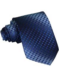 Y-BOA 1 Pièce Cravate Homme Motif Carreaux Élégante Mariage Cérémonie 8cm