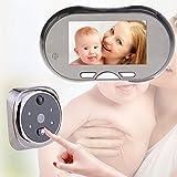 Pantalla LCD de 4,3¡± 160Degree mirilla visor puerta ojo puerta y visión nocturna de timbre