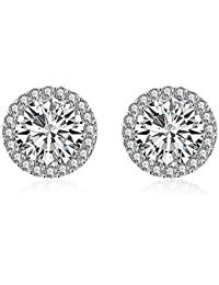 2af847520db00a Yellow Chimes Crystals from Swarovski Moonlight Sparkling Studs Earrings  for Women and Girls
