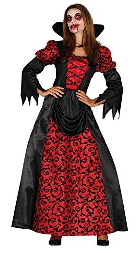 Costume Vampiressa Donna Halloween Carnevale Vampira